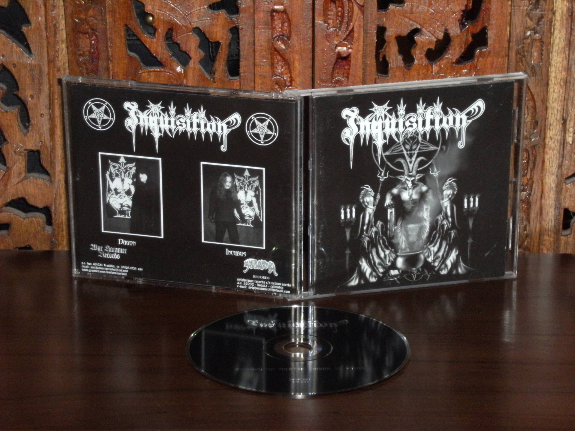 Inquisition Invoking The Majestic Throne Of Satan Inquisition  Invoking The