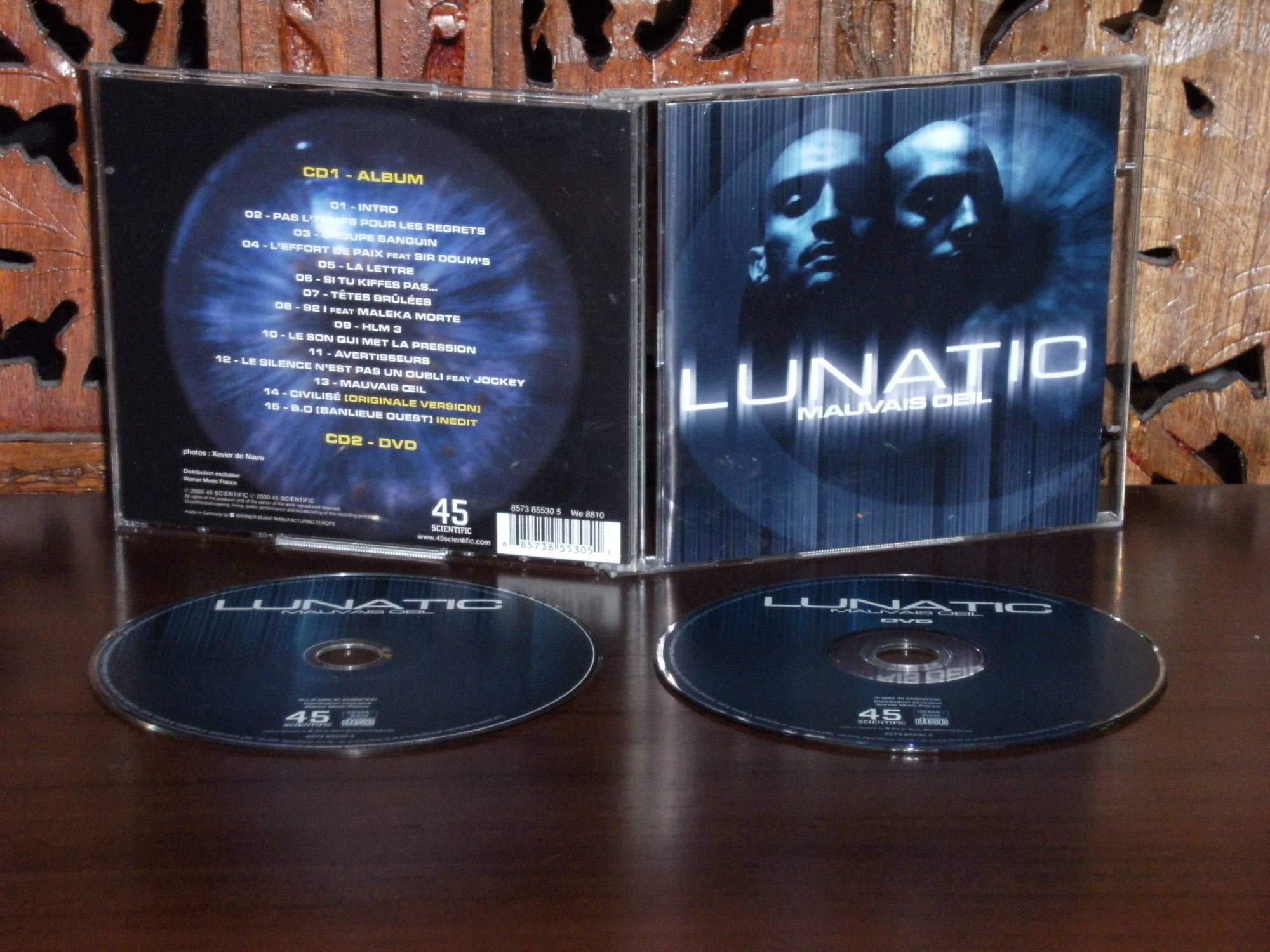 album lunatic mauvaise oeil