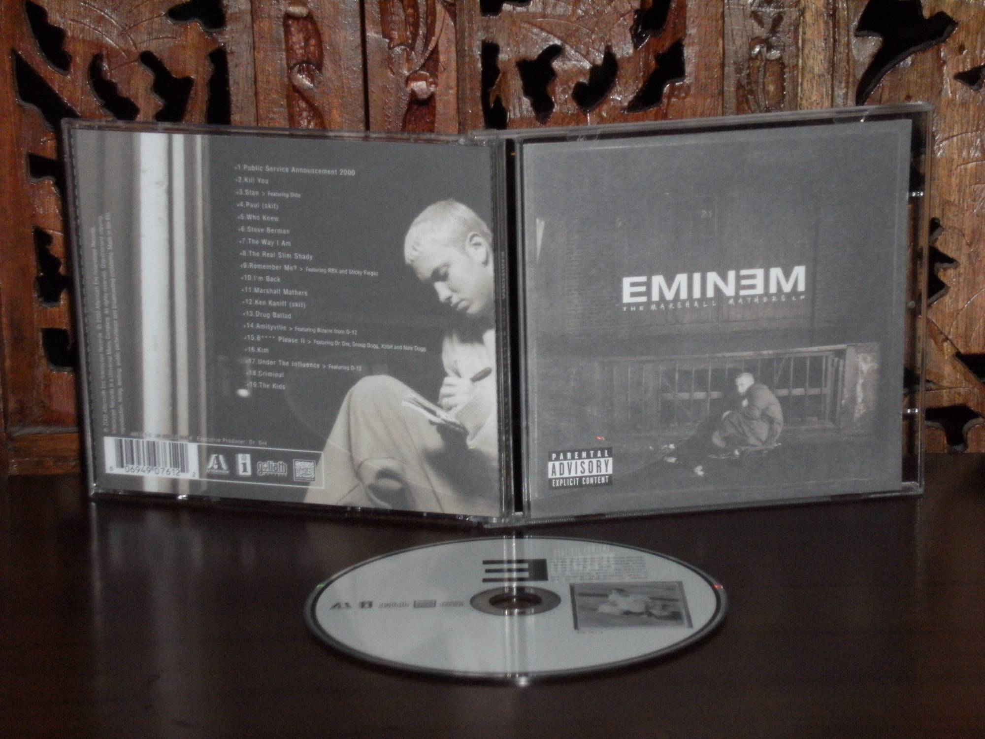 Eminem : The Marshall Mathers LP (2000) - Centerblog